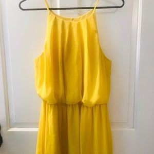 Women's Large Yellow Dress